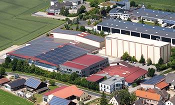Het OPITEC hoofdkantoor in Duitsland